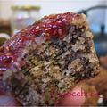 Muffins vegan aux noisettes et à la confiture de framboises