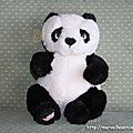 Bambou, mon bébé panda en peluche Bukowski + voyage retour