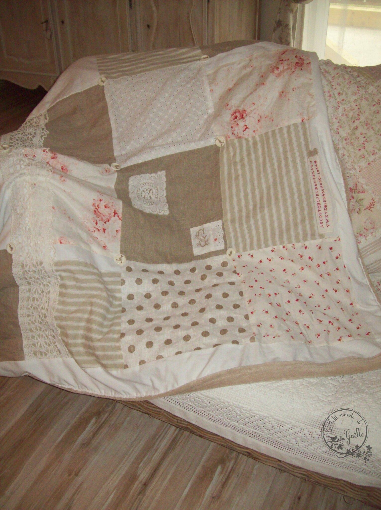 mon plaid patchwork