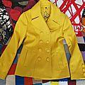 Manteau jaune guess