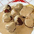 Boulettes de boeuf/porc sauce <b>Ikea</b>®