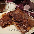 Brick de banane et pâte à tartiner