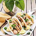 ...Tacos au poulet à la coréenne, mayo fumée, Cyril Lignac, Tous en cuisine...