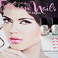 Magazines collection fashion nails