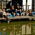 Farniente au parc de Bercy.