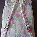sac à dos patchwork