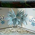 Carte pop-up fleuri -intérieur - Février 2013