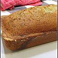 Le divin cake a la vanille de pascale - el divino budin de vainilla de pascale