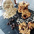 Biscuits à l'avoine et pépites de choco (vegan et sans farine)