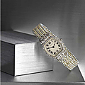 An important Belle Époque seed pearl and diamond lady's wristwatch, Cartier, circa <b>1913</b>