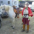 balade à cheval médiévale - Abbaye de Hambye (2)