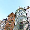 Troyes et ses maisons à colombage