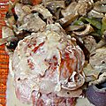 Paupiettes à la crème de champignons (cook'in)