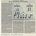Un patrimoine normand retrouvé: la <b>CATHEDRALE</b> <b>D</b>'<b>AVRANCHES</b>