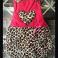 Du léopard pour petite princesse !!!!