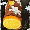 Bûche chocolat/orange