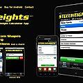 Steelweights, l'<b>appli</b> iPhone qui pèse lourd