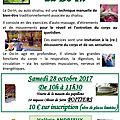 Session découverte du do-in le 28 octobre