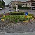 Rond-point à Vicence (Italie)