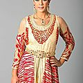 <b>Caftan</b> | robe soirée occidental