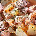Mijoté de thon et pommes de terre