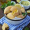Empanadas express à l'indienne {poireaux & carottes au curry} #vegan