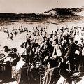 Biarritz Grande Plage en 1940 Soldats Allemand
