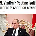 Poutine... isolé ?
