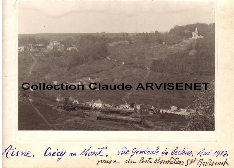 AISNE - Crecy au Mont