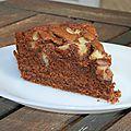 Gâteau au chocolat (blancs d'oeufs)