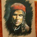 Femme nomade du gujerat