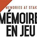 Memoires en jeu
