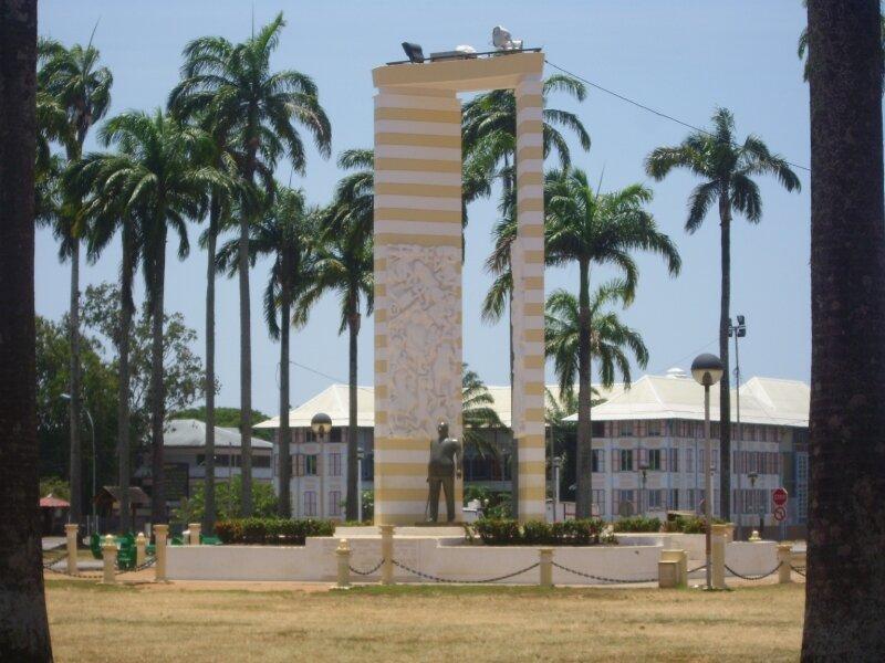 statue de Félix Eboué