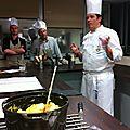 Cours de cuisine à l'Atelier du gout