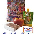 Mini <b>Lunch</b> <b>Bag</b> Goûter Léane - MK & Co Design