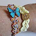 pour les vacances des bracelets au crochet