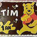 Gâteau Winnie Tim
