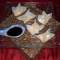 Bouchee vapeur thai au poisson, cacahuete, gingembre