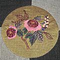 Fée Pirouette - L'herbier - Août rouge - BOM 2010