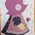 Art <b>journal</b> (8) : sun bonnet Sue
