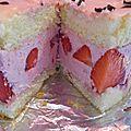 Ma version du fraisier