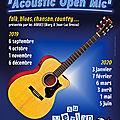 <b>Acoustic</b> <b>Open</b> <b>Mic</b>