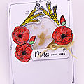 Carte aux coquelicots - Poppy <b>card</b>