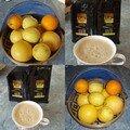 Café oranges et citrons...