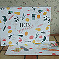 Revue :my little box bon appétit ( mai 2018)