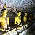 Temple troglodytes - Dambulla