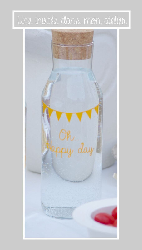 carafe-personnalisée-Happy day