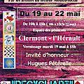 Un artiste saint-andréen expose ses oeuvres à clermont le 19 mai!