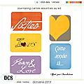 cartes <b>journaling</b> free scrap