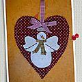 Snow happy hearts - bloc de janvier